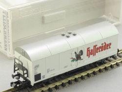 Fleischmann 8326 K Bierwagen Hasseröder DB Spur N KKK TOP! OVP
