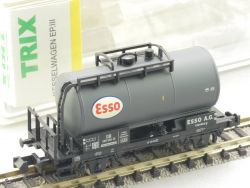 Trix 15194-16 Kesselwagen ESSO 585 550 KKK SW N TOP! OVP ST