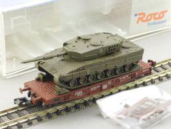 Roco 25595 Schwerlastwagen Panzer Leopard 2 Bundeswehr TOP! OVP