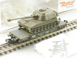 Roco 25596 Schwerlastwagen Panzerhaubitze Bundeswehr NEU! OVP