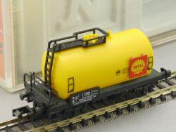 Arnold 4350 Kesselwagen SHELL Bremserbühne 505 110 wie neu! OVP
