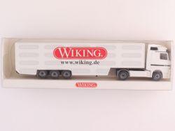 Wiking 53803 MB Actros Werbemodell Koffer-Sattelzug weiß NEU OVP