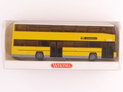 Wiking 7310940 MAN D 89 Doppeldeckbus Berlin BVG Linie 186 OVP