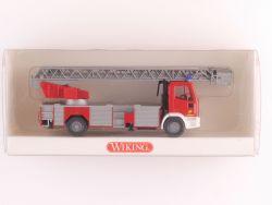 Wiking 6190334 Iveco Euro Fire Feuerwehr DLK 23-12 Leiter OVP