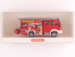 Wiking 6110337 Iveco EuroFire Feuerwehr LF 16/12 plakatiert  OVP