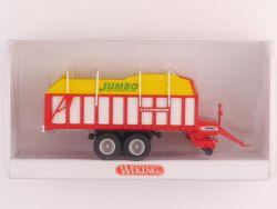Wiking 3814028 Pöttinger Jumbo Heuladewagen Silierwagen OVP