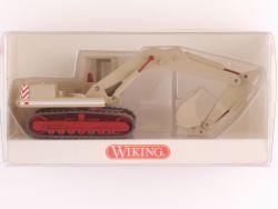 Wiking 6600626 Raupenbagger Löffelbagger O&K Baustelle NEU! OVP