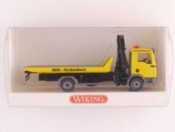 Wiking 6360436 MAN TGA L ADAC-Abschleppwagen Ladekran OVP