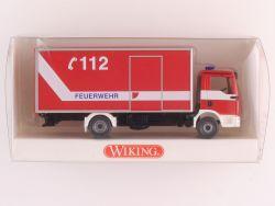 Wiking 6060236 MAN TGA L Feuerwehr Koffer-LKW NEU! OVP