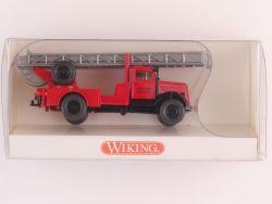 Wiking 8620122 Opel Blitz Feuerwehr-Drehleiter FFW NEU! OVP
