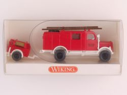 Wiking 86301 Opel Blitz LF 8 Feuerwehr mit Hänger FFW NEU! OVP