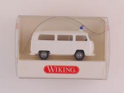 Wiking 8640424 VW Volkswagen Polizei Bus T2 weiß NEU! OVP