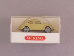 Wiking 8300814 Volkswagen VW Brezelkäfer gelbgrün Beetle NEU OVP