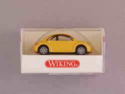 Wiking 0350724 VW Volkswagen New Beetle gelb 1/87 H0 NEU! OVP
