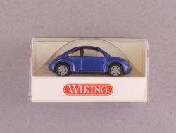 Wiking 0351124 VW Volkswagen New Beetle blau 1/87 H0 NEU! OVP