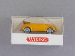 Wiking 8020514 Volkswagen VW Käfer Cabrio gelb Beetle NEU! OVP ST