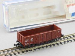 Roco 25059 Offener Güterwagen OM 21 DB Ep.III 752 062 Spur N OVP