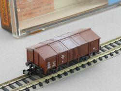 Roco 25056 Klappdeckelwagen DB K 25 2324S Spur N TOP! OVP