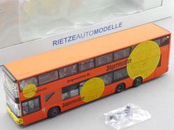 Rietze 67304 MAN Lion's City DD BVG Berlin Jägermeister TOP! OVP