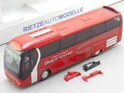Rietze 65531 MAN Lion's Coach Supreme R07 Bus Werbemodell TOP! OVP