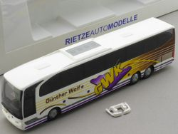 Rietze 63615 MB Travego Bus Günther Wolf Bad Kissingen TOP! OVP
