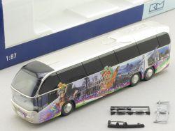 Rietze 67121 Neoplan Cityliner Bus World Wide Dachau TOP! OVP