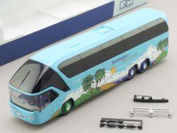 Rietze 66764 Neoplan Starliner Bus Spangler Pöttmes TOP! OVP