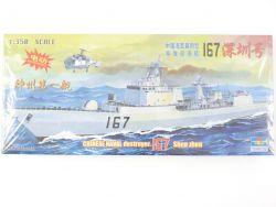 Trumpeter Chinese Destroyer 167 Shen Zhen Motor 1/350 NEU! OVP