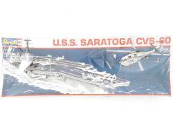 Revell 5058 Flugzeugträger USS Saratoga CVS-60 1/720 Kit NEU OVP