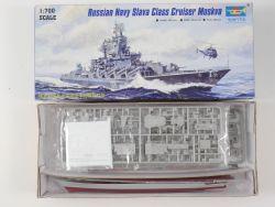 Trumpeter 05720 Russian Navy Slava Cruiser Moskva Moskau NEU OVP