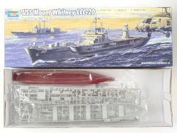 Trumpeter 05718 Navy Ship USS Mount Whitney LCC-20 1/700 NEU OVP