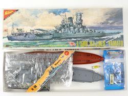 Nichimo Japan HIJMS Yamato ohne Motor 1/500 Model Kit RARE! OVP