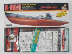 Doyusha UB-2000 U-Boat Boot VII C U-581 1/150 Motor fehlt OVP