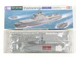 Tamiya 31003 JMSDF JDS LST-4001 Ohsumi 1/700 Kit MIB NEU! OVP