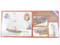 MGS 1030 Le Renard Cotre Corsaire 1812 1/50 Holzbausatz MIB! OVP