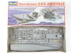 Revell 5061 US Navy Patrol Gunboat USS Asheville 1/130 ungebaut OVP