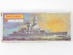Matchbox PK-161 Kriegsschiff Admiral Graf Spee 1/700 ungebaut OVP