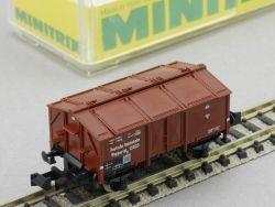 Minitrix 13664 Klappdeckelwagen Wuppertal DR Ep II Spur N OVP