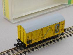 Minitrix 13523 Kühlwagen Bananen Güterwagen Iklm DB Spur N OVP