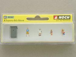 Noch 36560 Klogeschichten Toilette Modellbahn N Figuren N NEU! OVP