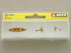 Noch 37805 Kanu Ruderer mit Boot Modellbahn N Figuren NEU! OVP