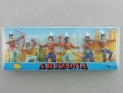 ALME 1114 Arizona Wild West Indianer 6 Figuren ca. 5 cm MIB! OVP