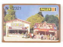 Faller 2321 Marktbuden Brathendl Knusperhaus Spur N OVP