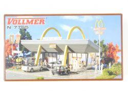 Vollmer 7765 McDonalds Restaurant Bausatz Modellbahn Spur N  OVP