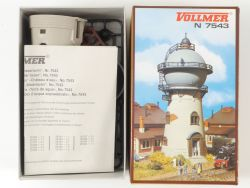 Vollmer 7543 Wasserturm Blickfang für Bahnhof Bausatz Spur N OVP