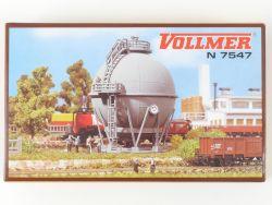 Vollmer 7547 Gaskessel Bahnhofsgelände Bausatz 47528 Spur N OVP