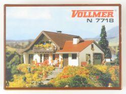 Vollmer 7718 Landhaus Landschaftsbau Bausatz Spur N  OVP