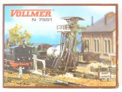 Vollmer 7551 Schlackenaufzug mit Grube Bausatz Spur N OVP