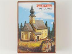 Vollmer 7740 Alpenkirche Landschaftsbau Bausatz Spur N  OVP