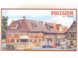 Vollmer 7633 NUR Post Markstrasse 6 aus 7634 Spur N LESEN OVP